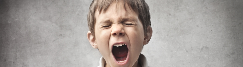 Bambino urlante