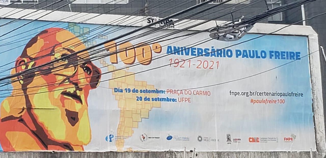 Paulo Freire centesimo anniversario della nascita