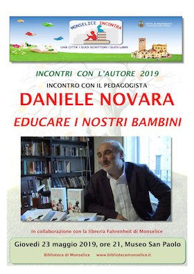 23 maggio Daniele Novara a Monselice