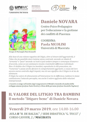 Macerata 29 marzo 2019 con Daniele Novara