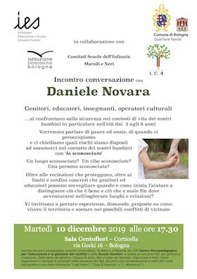 Daniele Novara a Bologna 10 dicembre 2019