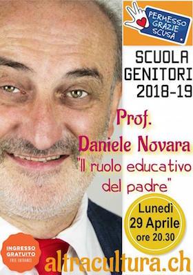Daniele Novara a Chiasso - 29 aprile 2019