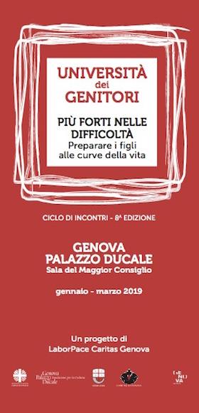 Università dei Genitori - Genova 2019