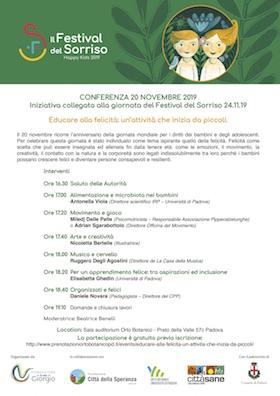 Organizzati e felici a Padova con Daniele Novara 20 novembre 2019
