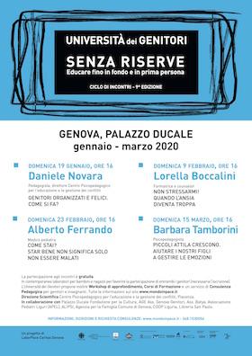Locandina Università dei Genitori di Genova