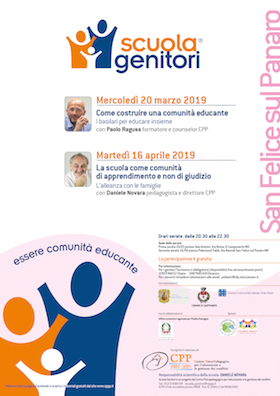 Locandina Scuola Genitori San Felice sul Panaro 2019